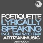 Cover art for Poetiquette L.P. Lyrically Speaking